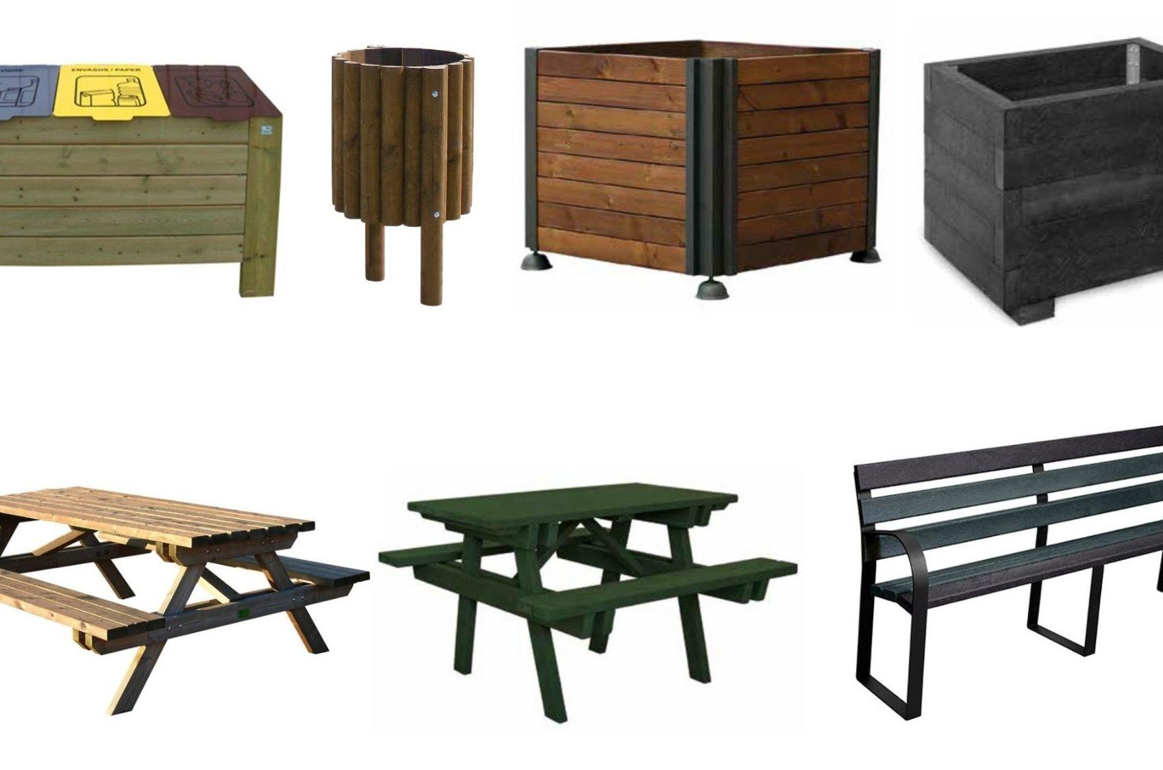 ¿Cómo acertar con el mobiliario urbano exterior?