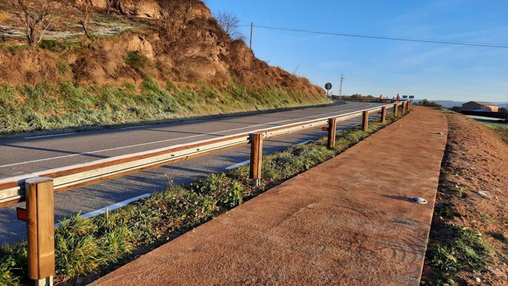 Vallas para la protección de peatones Guilleries y bionda de carretera