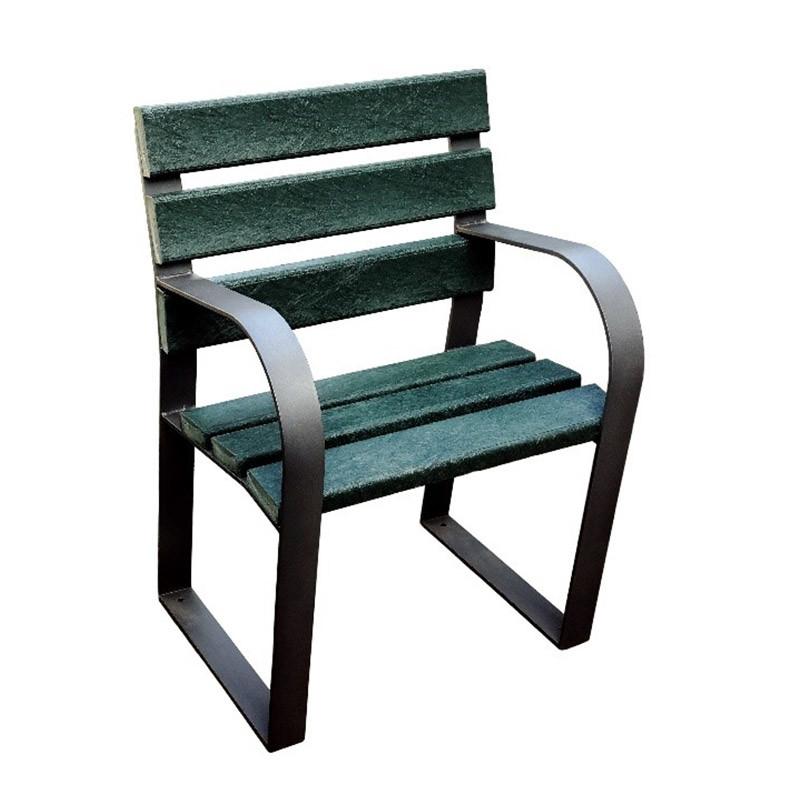 Cadira de plàstic reciclat
