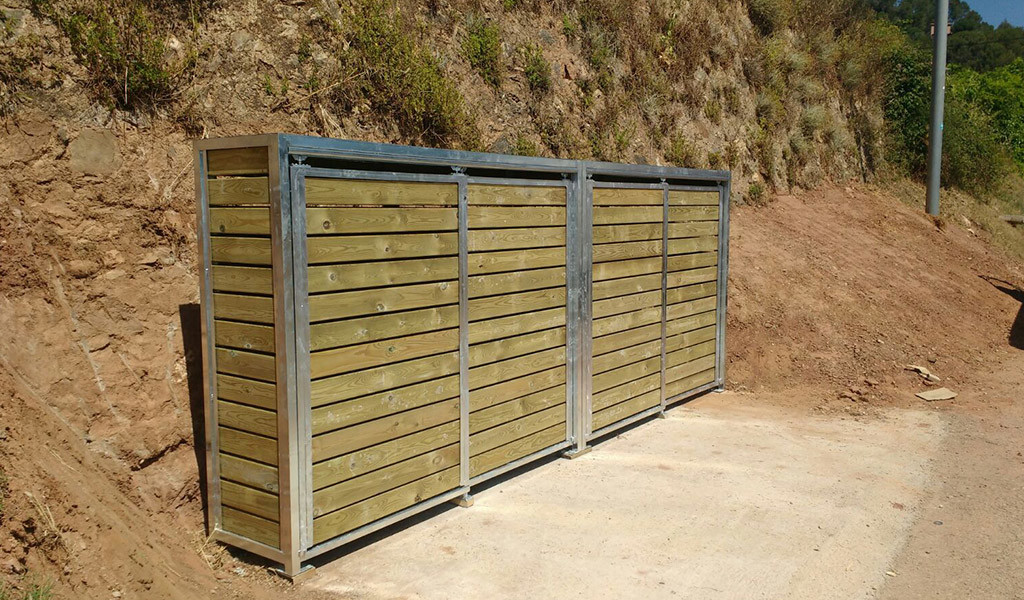 Instal·lació Armari per contenidors