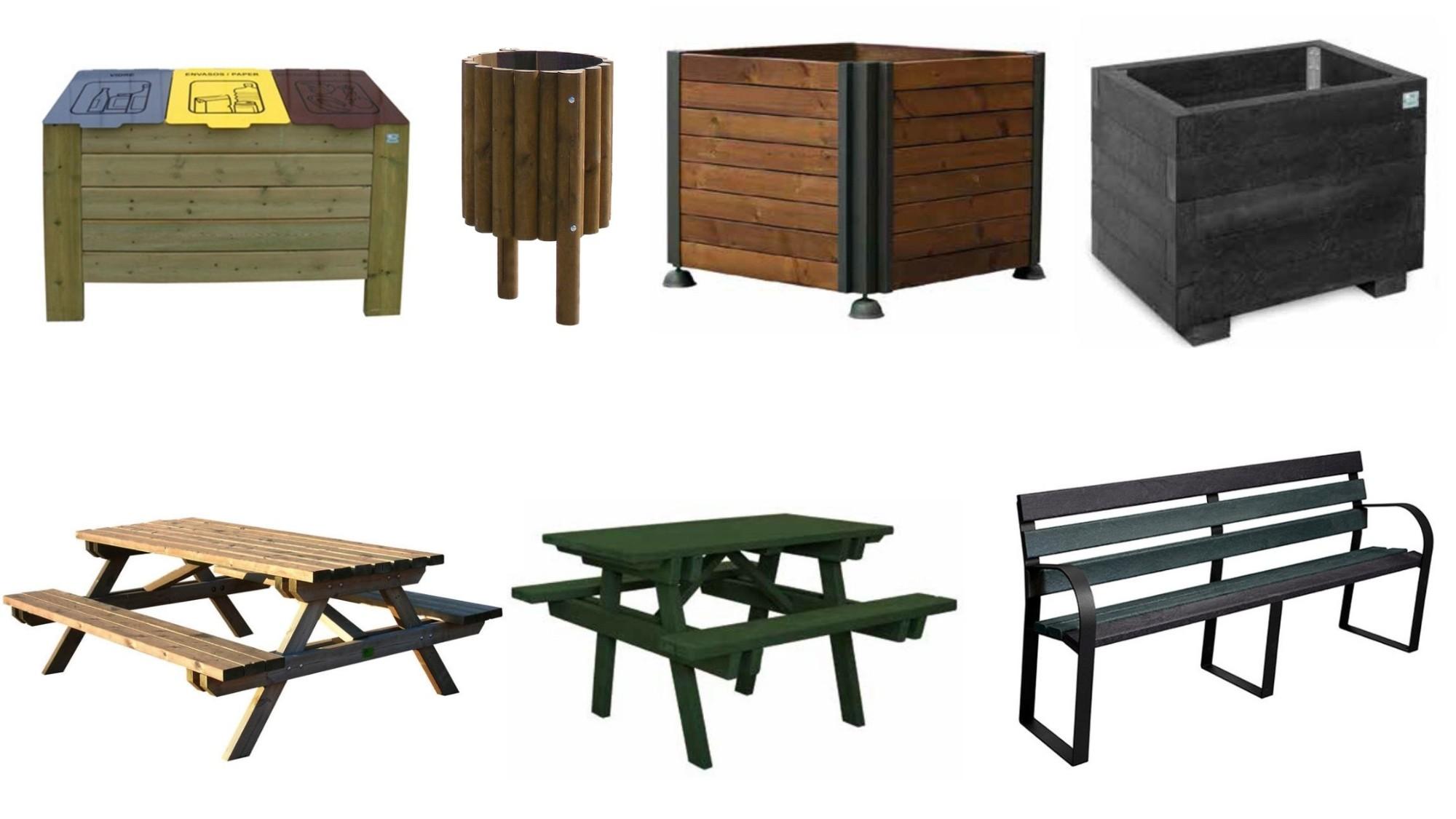 Com encertar amb el mobiliari urbà exterior?